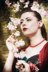 Miss Elinor Divine Die Burlesque Perle vom Rhein Burlesque und Pin Up Vintage Retro Fotografie