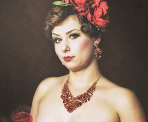 Miss Elinor Divine Die Burlesque Perle am Rhein Düssledorf Burlesque Fotografie